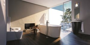 """Phòng tắm tương lai từ tầm nhìn của """"thiên tài thiết kế"""" Philippe Starck"""