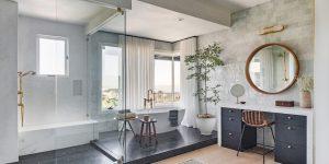 10 gợi ý trang trí phòng tắm sang trọng với bảng màu tạo cảm giác thư thái, dễ chịu