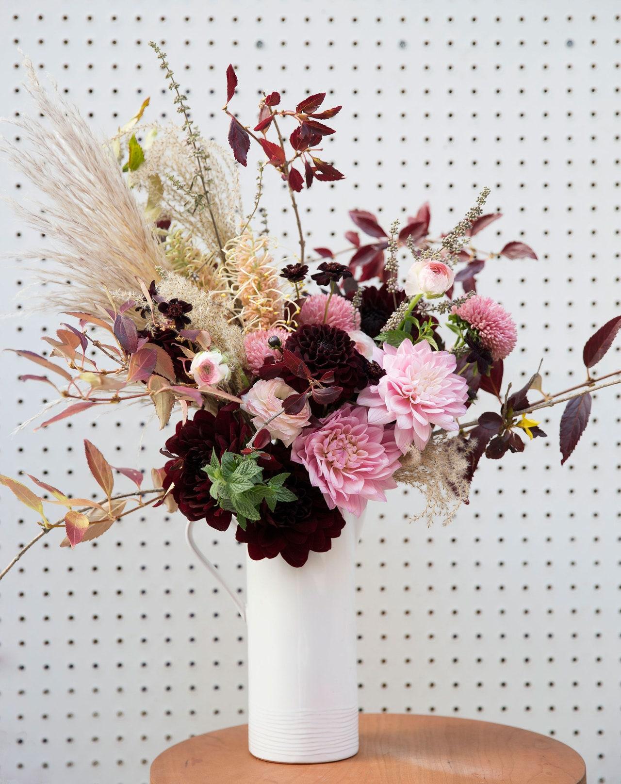 6 phong cách cắm hoa bạn có thể dễ dàng làm tại nhà-6