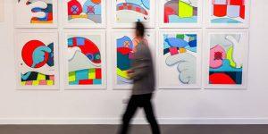 Triển lãm thực tế ảo đầu tiên trưng bày loạt tác phẩm của Banksy, Damien Hirst, George Condo, Jeff Koons và Kaws