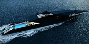 Thiên nga đen: Siêu du thuyền thanh lịch nhất thế giới