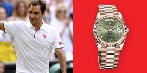 Điểm mặt 5 mẫu Rolex danh giá từng đồng hành cùng huyền thoại Roger Federer