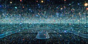 Bí mật ẩn sau tác phẩm sắp đặt Infinity Mirror của Yayoi Kusama