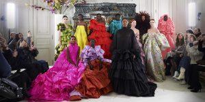 Valentino: Từng có một show diễn để kỷ niệm và tôn vinh vẻ đẹp người da màu