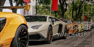 Điểm mặt dàn siêu xe trăm tỷ hội tụ tại sự kiện thượng lưu Summer Wanderlust 2020