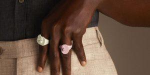 """Nhẫn """"Điêu khắc"""" giá theo yêu cầu của Virgil Abloh, chỉ dành cho Louis Vuitton"""