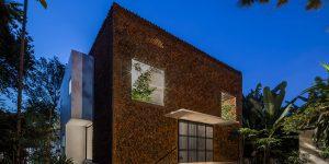 """Wall House: Công trình """"nhà thở"""" 24/24 ở Biên Hòa, Việt Nam"""