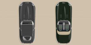 Jaguar kỷ niệm 60 năm E-Type bằng cách khôi phục hai mẫu xe đầu tiên từng được sản xuất