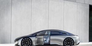 Xe điện flagship của Mercedes EQS sẽ soán ngôi vương của Tesla?