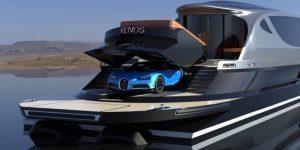 Làm thế nào để được tặng chiếc Bugatti trị giá 3 triệu USD? Hãy mua siêu du thuyền Xenos!