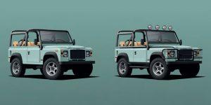 """Thêm một cú """"chạm điện"""" thú vị cho chiếc Land Rover Defender cổ điển từ Twisted Automotive"""