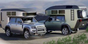 """""""Biến hóa"""" Land Rover Defender 2020 thành căn penthouse di động"""