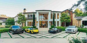 Bên trong dinh thự LA tuyệt đẹp trị giá 25 triệu USD của The Weeknd