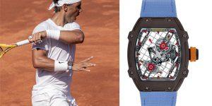 """Richard Mille RM 27-04 Tourbillon """"Rafael Nadal"""": Siêu phẩm tôn vinh """"biểu tượng sống"""" Rafael Nadal"""