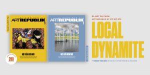 Ra mắt hai bìa giới hạn còn lại của ấn phẩm nghệ thuật Art Republik Vietnam #1