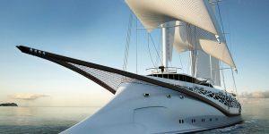 Bầu trời là giới hạn – Những ý tưởng siêu du thuyền buồm tuyệt vời