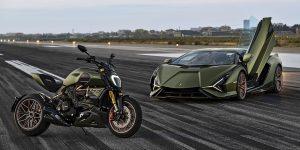 Chiêm ngưỡng mẫu siêu mô tô đặc biệt do Lamborghini và Ducati chế tạo