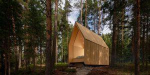 Zen Cabin: Không gian sống thiền nép mình bình yên giữa khu rừng hoang dã