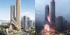 Zaha Hadid công bố Tháp C cao 400 mét với thiết kế ấn tượng tại Thâm Quyến