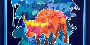 Cyril Kongo đưa văn hoá phương Đông thăng hoa cùng nghệ thuật đường phố Graffiti