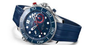 Omega kỷ niệm giải America's Cup với phiên bản Seamaster Diver 300m America's Cup Chronograp