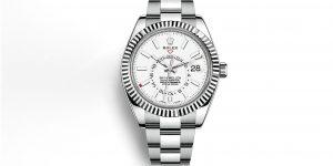 LUXUO Spend: Đồng hồ mặt số trắng, Rolex Sky-Dweller là lựa chọn hoàn hảo?