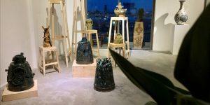 """""""Vết in từ đất"""": Một triển lãm khám phá, thử nghiệm và tái bối cảnh hóa đồ gốm"""