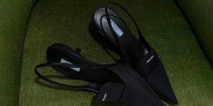 LUXUO Spend: Giày mũi nhọn Prada Xuân Hè 2021