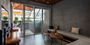 """LUXUO Home: Dist.4 House – Không gian liên thông 3 tầng nhằm cải thiện khả năng """"thở"""""""