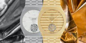 Gucci đánh dấu tuổi 100 cùng bộ máy cơ in-house đầu tiên trong Gucci 25H