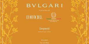 """""""A Touch Of Roman History"""": Đêm tiệc của BVLGARI, Rome, Serpenti Viper và hơn thế nữa"""
