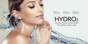 Hydro2: Trị liệu thịnh hành tại vương quốc Anh đã có mặt tại PPP Laser Clinic