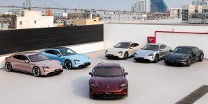 Xe điện hạng sang Porsche Taycan đầu tiên được giao đến khách hàng Việt