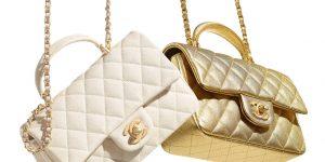 LUXUO How to spend it: Túi Chanel Mini Flap Bag có tay cầm