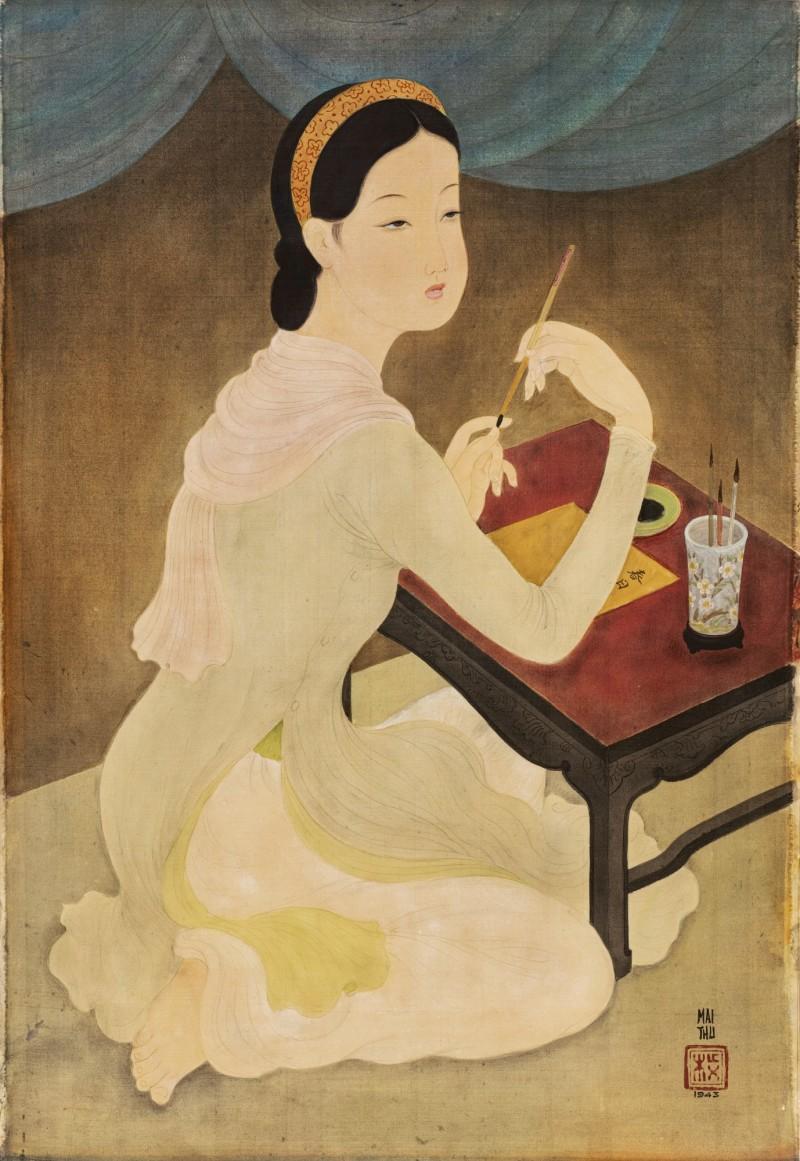 Portrait of Mademoiselle Phuong - Mai Thu - 1930
