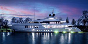 Moskito Yacht: Bên trong siêu du thuyền hạng sang cho thuê của Heesen Yachts