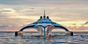 Du thuyền ba thân Adastra: Phá vỡ mọi chuẩn mực về thiết kế