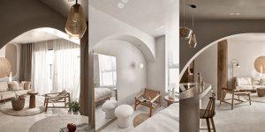 Kiến trúc tối giản và mềm mại trong căn hộ do Limdim House cải tạo