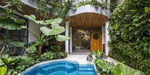 Nhà Sài Gòn: Vườn nhiệt đới treo lơ lửng từ căn hộ City Oasis