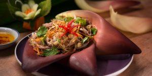 Bếp nhà cùng LUXUO (Kỳ 6): Gỏi hoa chuối thịt bò nướng
