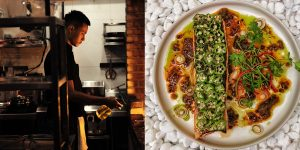 Bếp nhà LUXUO (Kỳ 4): Cá hồi – Đậu bắp – Sốt Satay