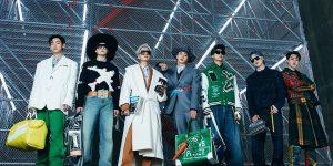 Louis Vuitton Men Thu Đông: BTS thay đổi định kiến về chuẩn mực của thời trang nam
