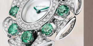 Đồng hồ Bvlgari Diva Dream Divissima Emeralds: Tạo phẩm quyến rũ không lời