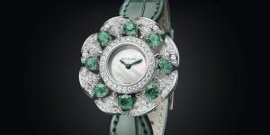 Đồng hồ Bvlgari DivasDream Divissima Emeralds: Tạo phẩm quyến rũ không lời