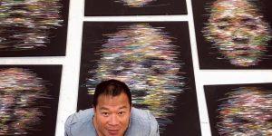 Kỹ thuật vẽ chân dung của Hom Nguyen: Khả năng truyền tải đa nghĩa theo cách bản năng