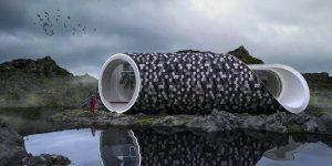 Nhà vỏ sò Scandinavian: Mô hình lưu trú vừa độc đáo vừa bền vững
