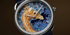Hermès Arceau The Three Graces: Tinh hoa khăn lụa trên tuyệt tác đồng hồ